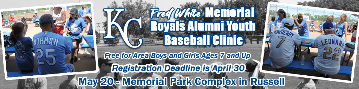 2021 Royals Alumni Clinic Marquee