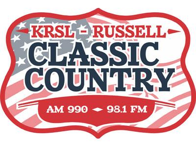 KRSL AM 990 and 98.1 FM Logo