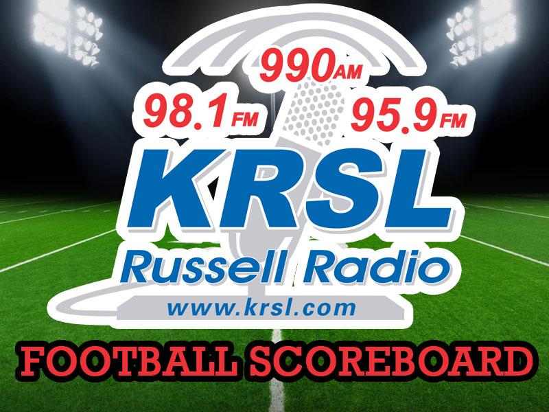 KRSL Football Scoreboard