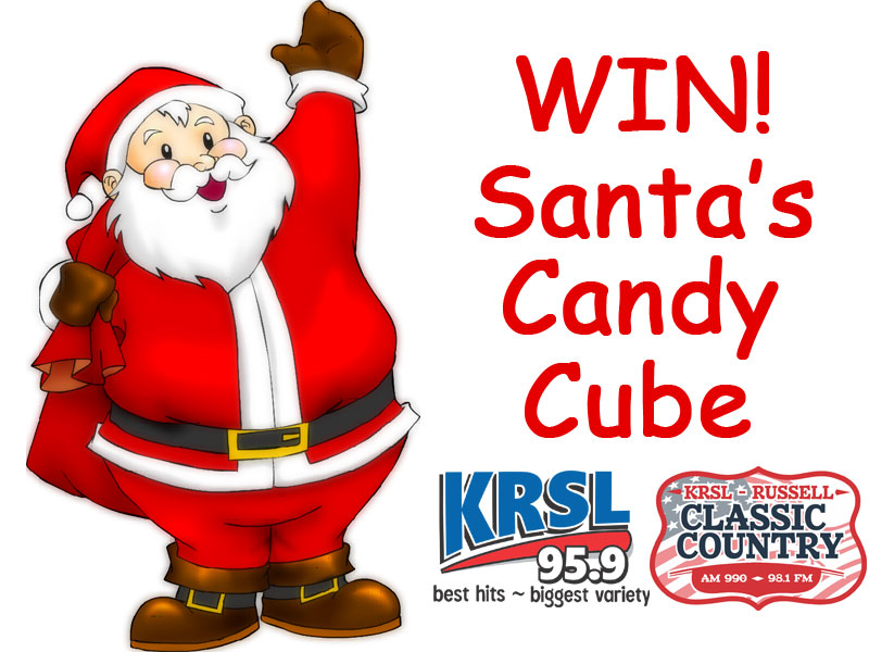 KRSL Santa's Candy Cube
