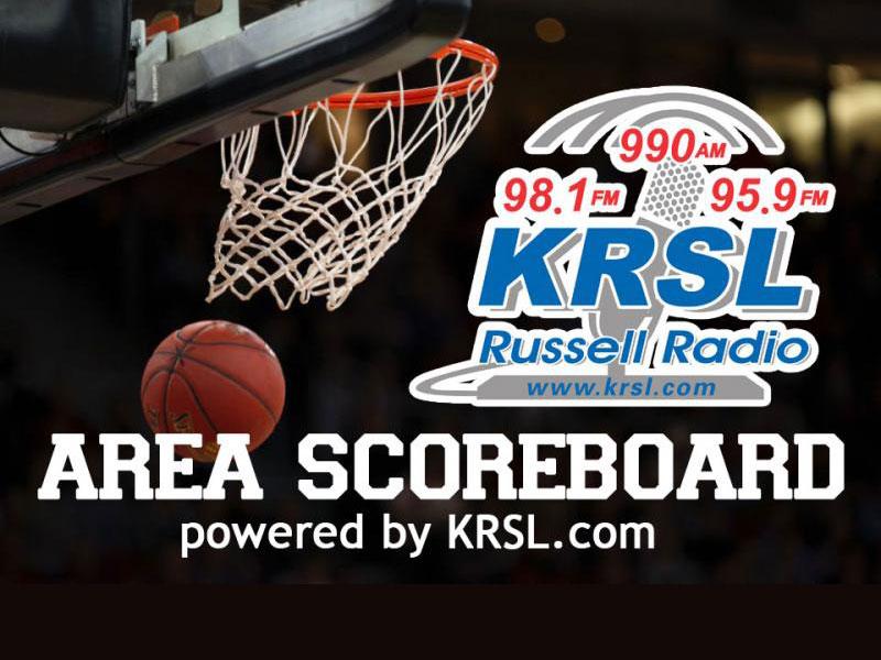 KRSL Basketball Scoreboard
