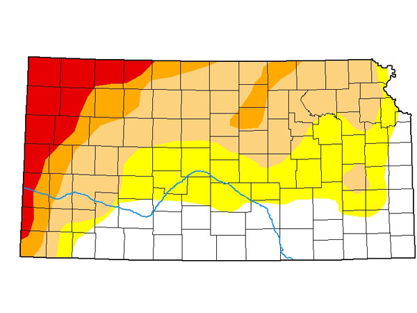Drought Report for January 14, 2021. (Courtesy of US Drought Monitor)
