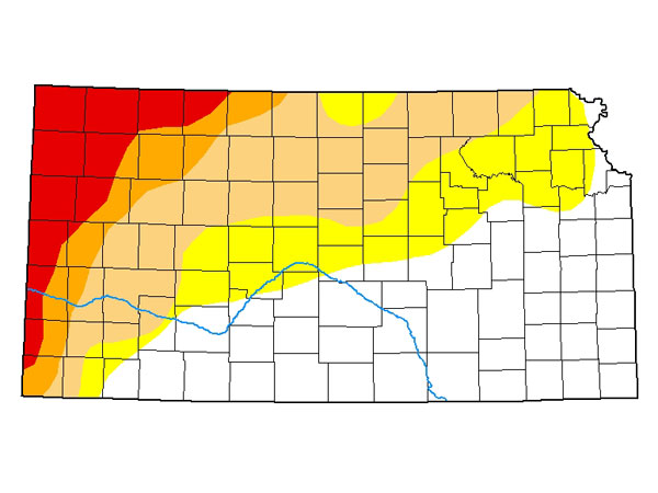 Drought Report for February 4, 2021. (Courtesy of US Drought Monitor)