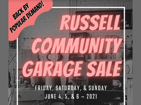 2021 Russell Community Garage Sale