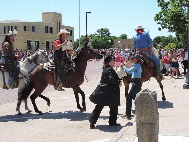 Prairiesta Parade Bank Robbery