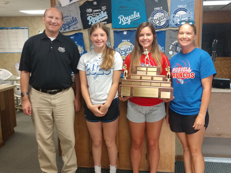 Pictured left to right: Erik Stone, Hayley Powers, Kayla Noller and Brandi Powers.